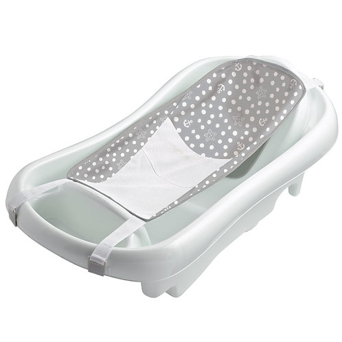 The First Years Sure Comfort Newborn to Toddler Tub, White