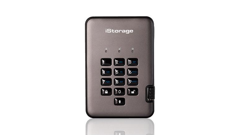 iStorage diskAshur PRO2 USB 3.1 Tragbare SSDs