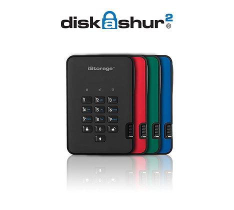 iStorage diskAshur2 USB 3.1 Portable HDDs