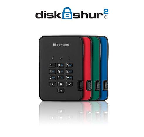 iStorage USB 3.1 diskAshur2 Portable SSD
