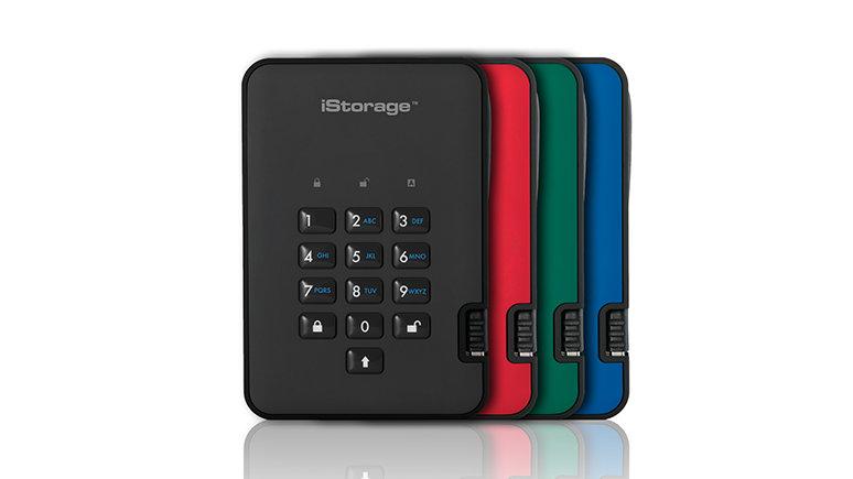 iStorage USB 3.1 diskAshur2 Tragbare SSD