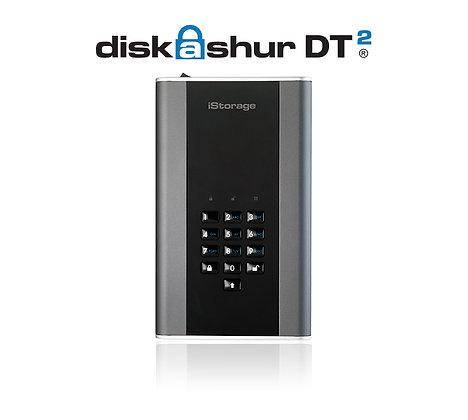 iStorage diskAshur DT2 USB 3.1 Portable HDDs