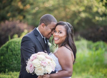 Wedding at The Landmark Hall & Gardens | Stephanie + Josh | North Carolina Wedding Photographer