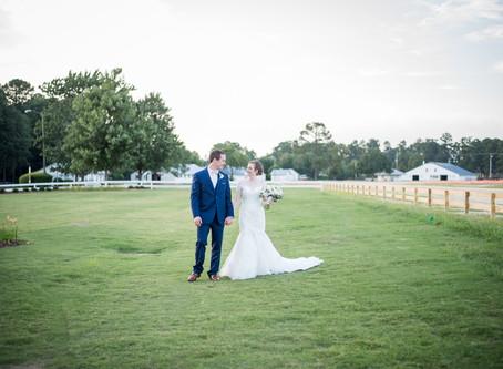 The Fair Barn Wedding | Halee + Grady | North Carolina Wedding Photographer