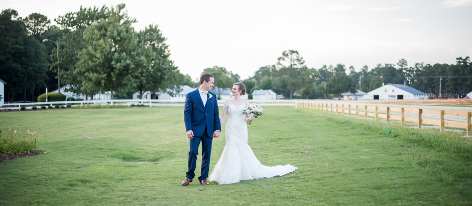 The Fair Barn Wedding | Halee + Grady | North Carolina Wedding Photographer