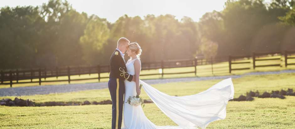 Oakland Farm Wedding | Kayla +Trevor | North Carolina Wedding Photographer
