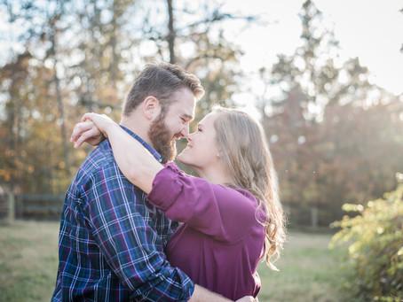 Goldston Engagement Session | Carter + Brandon | North Carolina Wedding Photographer