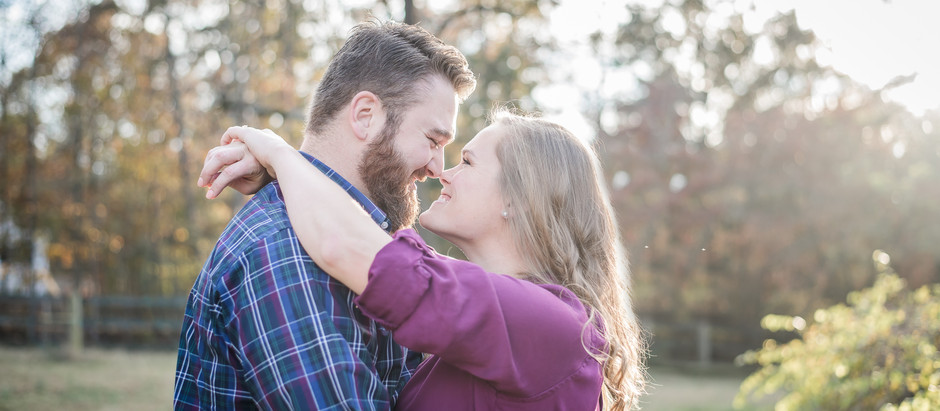 Goldston Engagement Session | Carter + Brandon | North Carolina Wedding Photographer
