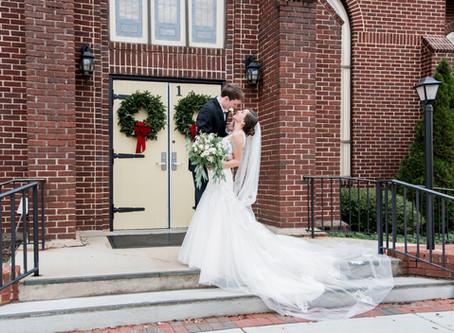 Oaks at Salem Wedding | Shelley + Carter | North Carolina Wedding Photographer
