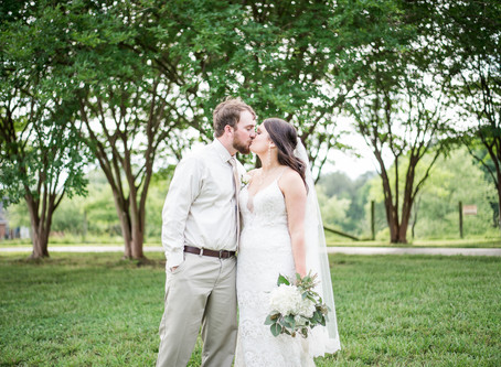 The Farm On Cotton Wedding | Kacie + Nick | North Carolina Wedding Photographer