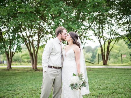 The Farm On Cotton Wedding   Kacie + Nick   North Carolina Wedding Photographer