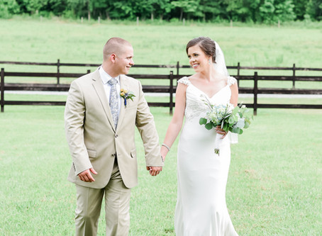 Oakland Farm Wedding | Emily + Mitchell | North Carolina Wedding Photographer