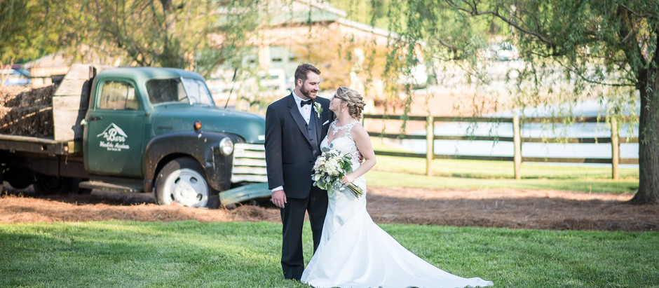 The Barn at Woodlake Meadows Wedding | Casey + Joseph | North Carolina Wedding Photographer