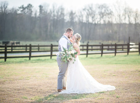 Oakland Farm Wedding | Darien + Seth | North Carolina Wedding Photographer