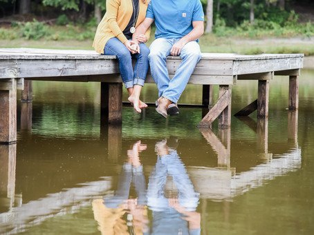 Engagement Session | Deanna + Jordan | North Carolina Wedding Photogrpher