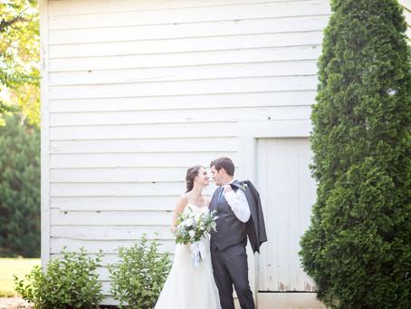 Wedding at The Rand Bryan House   Hannah + Steve   North Carolina Wedding Photographer