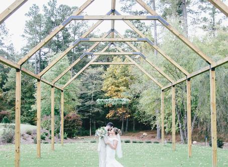 Chapel Hill Carriage House Wedding | Logan + Ben | North Carolina Wedding Photographer