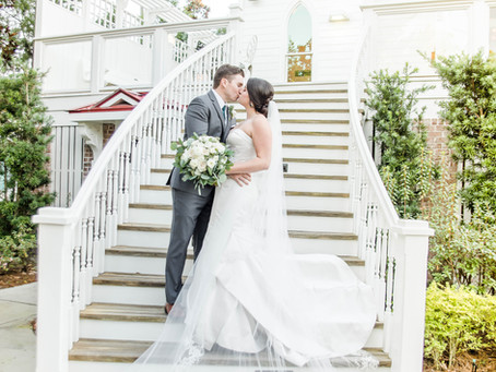 Tybee Island Chapel Wedding   Jessica + Max   North Carolina Wedding Photographer   Georgia Wedding