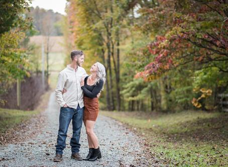 Goldston Engagement Session  Ericka +Jarid    North Carolina Wedding Photographer