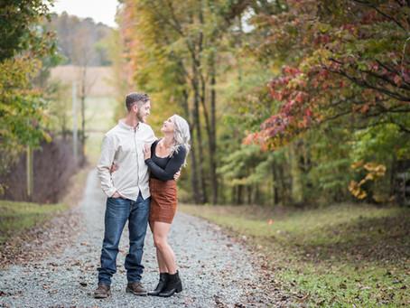 Goldston Engagement Session |Ericka +Jarid  | North Carolina Wedding Photographer
