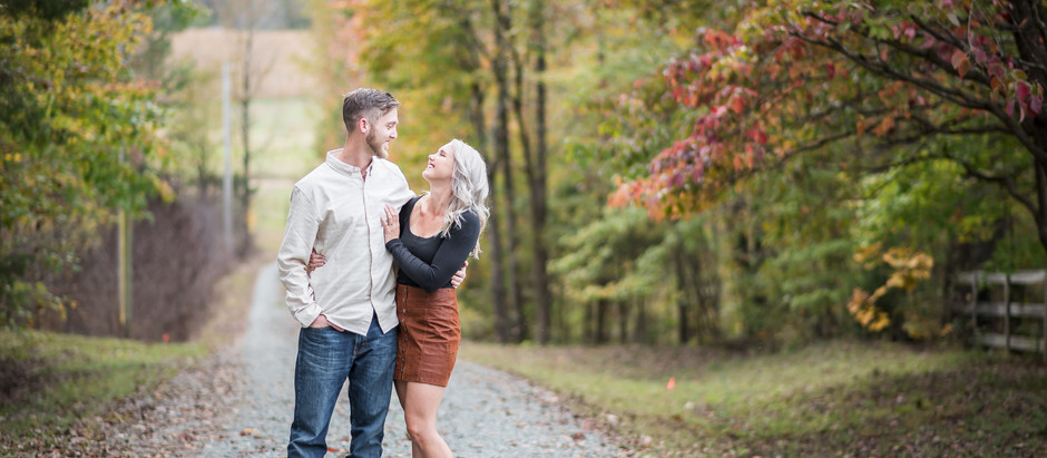 Goldston Engagement Session |Ericka +Jarid  | North Carolina Wedding Photographer