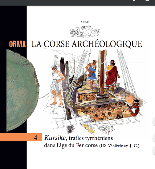 Kursike, trafics tyrrhéniens dans l'âge du Fer corse (IXe-Ve siècle av. J-C.)