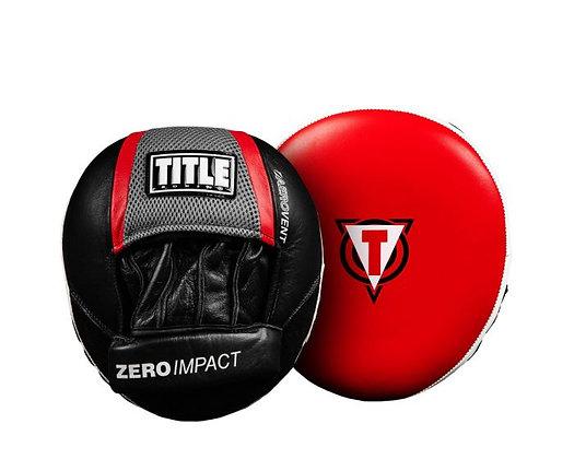 TITLE Defense Shield Zero-Impact Punch Mitts
