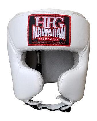 "HFG ""RIVAL STYLE"" HEADGEAR-WHITE"