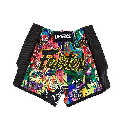 Fairtex MUAY THAI SHORTS BS URFACE- URFACE x Fairtex Boxing Shorts