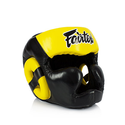 Fairtex HG13FH Diagonal Vision Sparring Headguard Full Head Cover