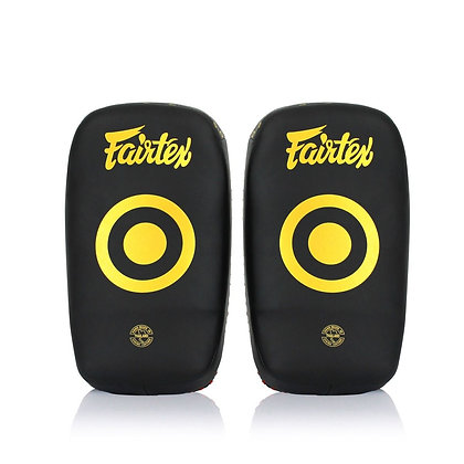Fairtex KPLC6 Microfiber Curved Kick Pads - Small