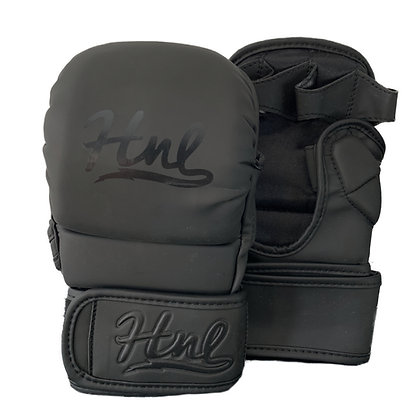 HNL Matte Black MMA Sparring Glove