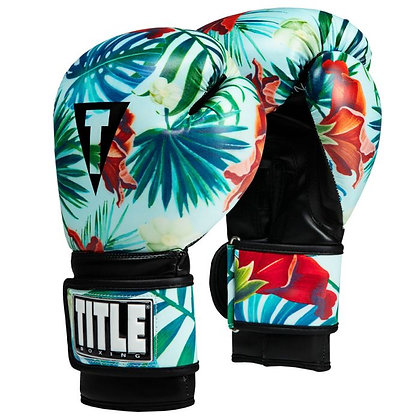 Hawaiian Floral Bag Gloves