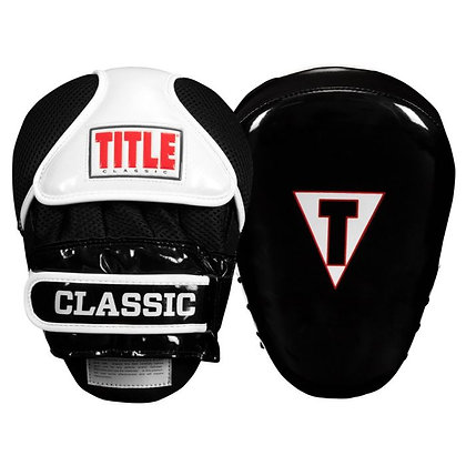 TITLE Classic Pro-Style Trainer's Mitts