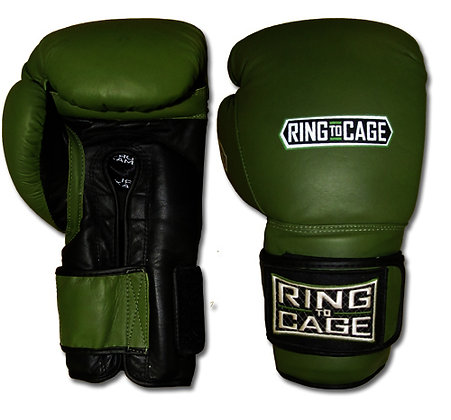 RING TO CAGE Deluxe MiM-Foam Sparring Gloves - Safety Strap