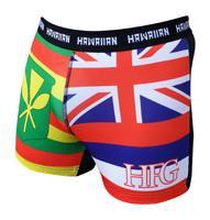 """HFG """"TWIN FLAG"""" SHORTS - SHORT STYLE"""