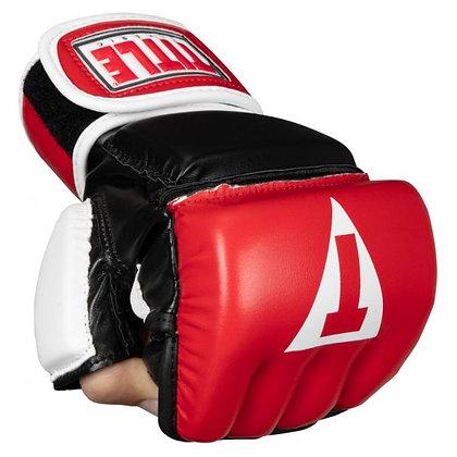 TITLE Classic Wristwrap Heavy Bag Gloves