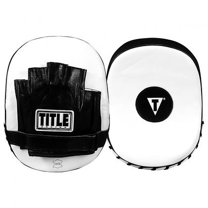 TITLE Cobra Leather Punch Mitts