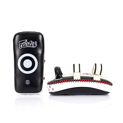 Fairtex KPLC4 Curved Kick Pads - Extra Long