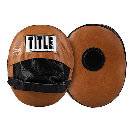 ITLE Vintage Leather Punch Mitts