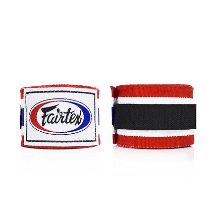 Fairtex HW2 Hand Wraps - Thai Flag and Red/White