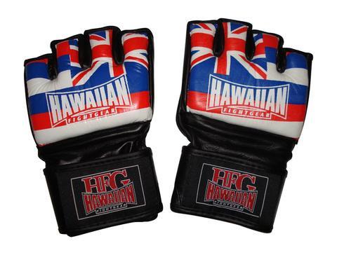 HFG ULTIMATE HAWN FLAG MMA GLOVES