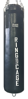 RING TO CAGE Heavy Bag 4ft Double-end - Unfilled