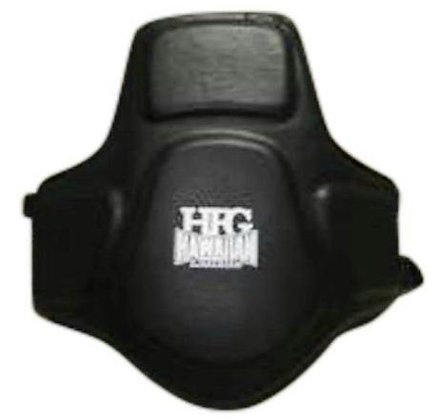 HFG CHEST BODY PROTECTOR LEATHER - BLK