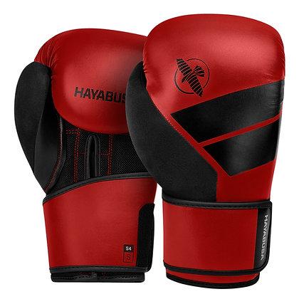 Hayabusa S4 Boxing Gloves & Hand Wraps Kit