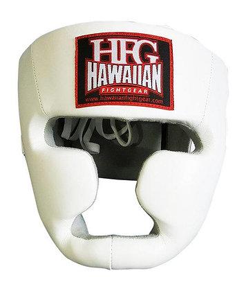 "HFG ""TWINS STYLE"" FULL FACE HEADGEAR-WHT"