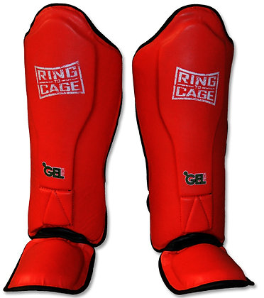 RING TO CAGE Platinum GelTech MMA Muay Thai Shin Guard