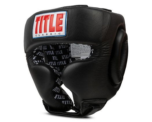 TITLE Classic Traditional Training Headgear 2.0