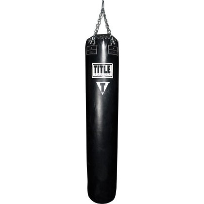 Title Boxing Synthetic Leather Banana Bag