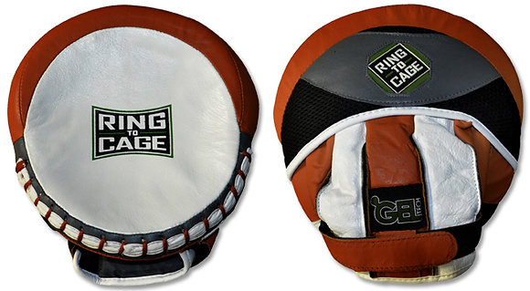 RING TO CAGE Platinum GelTech Catch-N-Feed Micro Punch Mitt